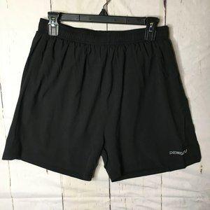 "Demozu Mens Running Shorts 5"" M Black NWT"
